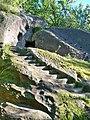 Городище та наскельний печерний монастир Святого Онуфрія, с. Розгірче.JPG