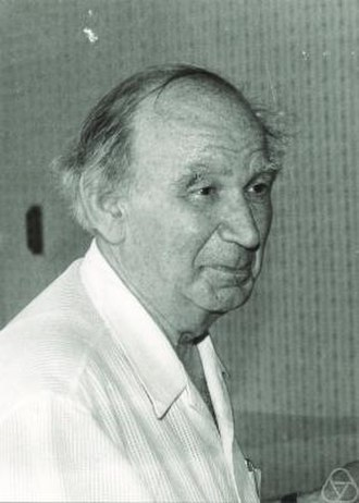 Evgenii Landis - Landis at a conference on potential theory in Prague, 1987