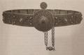 Женский пояс, серебро. Нахичеван, 1860-е годы..png