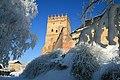 Зимова В'їзна вежа Луцького замку-2.jpg
