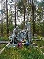 Кирилловское, Мемориал и братские захоронения советских воинов 4.jpg