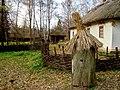 Музей-скансен в Переяславі-Хмельницькому, вулик під соломою.jpg
