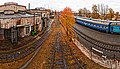 Осінній вокзал - Autumn railway (artistic) - panoramio.jpg