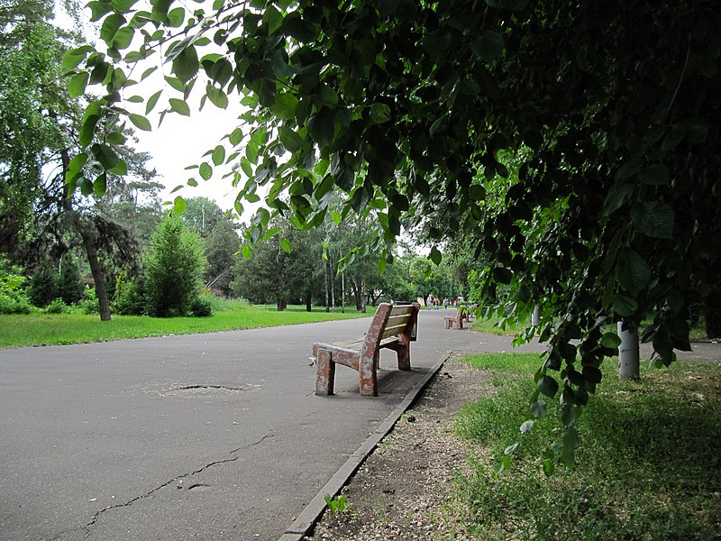 "Arboretum ""Lazar Globa park"" in Dnipropetrovsk"