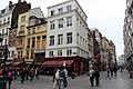 Перекресток Rue du Marche du Poulets (Kiekenmarkt) и Rue Tabora (Taborastraat) - panoramio.jpg
