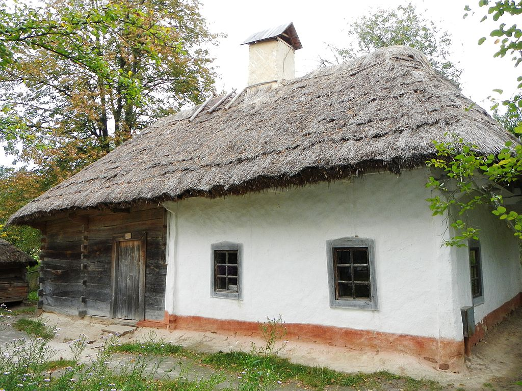 Дерев'яна хата з селища Шишаки Хорольського району Полтавської області, XIX століття