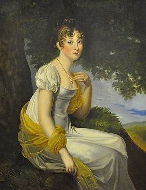 Anna Pavlovna of Russia - Grand Duchess Anna Pavlovna of Russia, circa 1813.