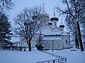 Преображенский собор Спасо-Евфимиева монастыря в Суздале, зимние сумерки.JPG