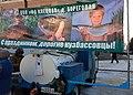 Пр.Советский, ярмарка, живая рыба, 25.11.2011 - panoramio.jpg