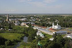 Skyline of Suzdal