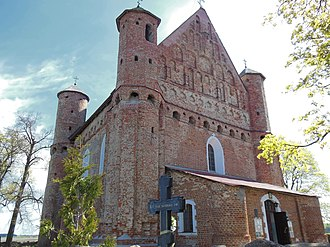 Belarusian Gothic - The 16th-century Church of St. Michael, Synkavichy