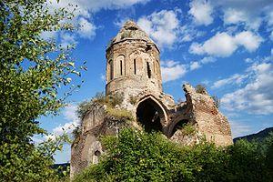 Georgian churches in Armenia - Image: Սրվեղի վանք36