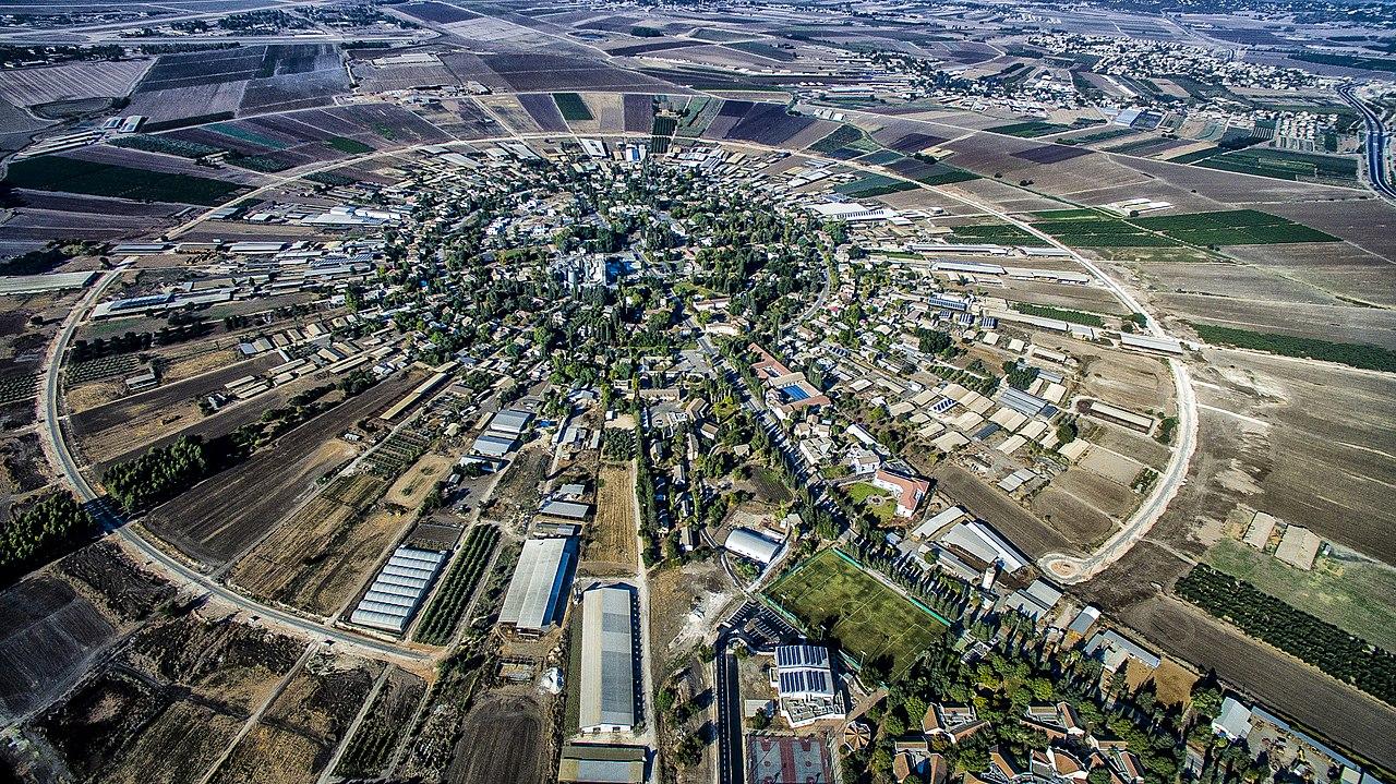 Vista aérea de Nahalal