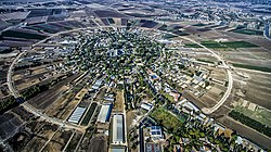 Aerial view of Nahalal