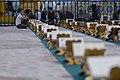 عکس های مراسم ترتیل خوانی یا جزء خوانی یا قرائت قرآن در ایام ماه رمضان در حرم فاطمه معصومه در شهر قم 01.jpg