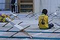 عکس های مراسم ترتیل خوانی یا جزء خوانی یا قرائت قرآن در ایام ماه رمضان در حرم فاطمه معصومه در شهر قم 03.jpg