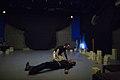 نمایش هملت در قم به کارگردانی علی علوی و گروه تئاتر گاراژ به روی صحنه رفت hamlet Garage Theater qom 02.jpg