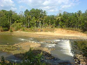 Pandalam - Image: പന്തളംപുഴ