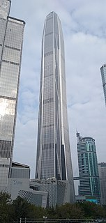 Ping An Finance Centre Skyscraper in Shenzhen, Guangdong province, China
