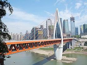 重庆万州长江四桥_千厮门嘉陵江大桥 - 维基百科,自由的百科全书