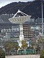 鶴学園広島工業大学高校のパラボラアンテナ.JPG