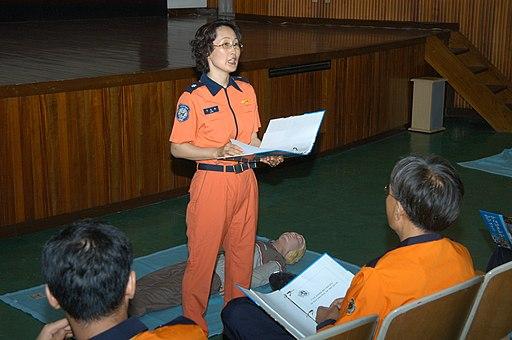 소방공무원 이은와 20050721서울소방학교 119소년단 안전체험교실106