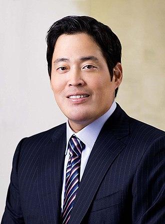 Chung Yong-jin - Image: 정용진 신세계그룹 부회장 Chung Yong jin