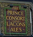 -2013-07-19 Tile sign, Prince Consort public house, Great Yarmouth.JPG