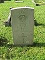 -2019-10-02 CWGC gravestone, Unknown merchant sailor, Cromer town cemetery.JPG