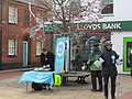 -2019-12-07 Brexit party campaigners, Church Street, Cromer.JPG