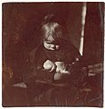 -Betty Reynolds with Doll on Lap- MET DP116729.jpg