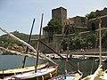 006 La torre del Castell Reial des del port.jpg