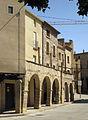 012 Plaça Major, porxos de Can Castellà, banda nord-est.jpg