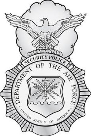 United States Air Force Security Forces - Security Forces Badge