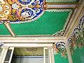 086 Can Guineu, c. Hospital 22 (Sant Sadurní d'Anoia), sala amb pintures murals.jpg