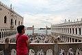 0 Venise, la Piazzetta vue de la loggia méridionale de la basilique St-Marc (2).JPG