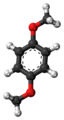 1,4-Dimethoxybenzene-3D-balls.png