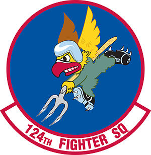124th Fighter Squadron - Image: 124th Fighter Squadron emblem