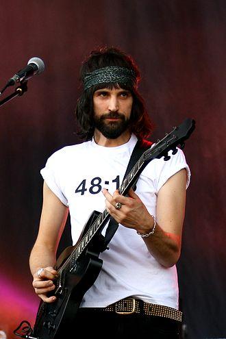 Serge Pizzorno - Sergio Pizzorno performing at Rock im Park Festival 2014.