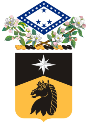 151st Cavalry Regiment - 151st Cavalry Coat of Arms