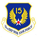 15th Expeditionary Mobility Task Force - Emblem