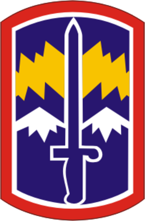 171st Infantry Brigade (United States) - 171st Infantry Brigade shoulder sleeve insignia