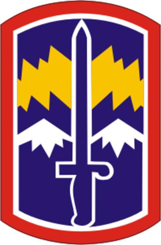 171st Infantry Brigade (United States) - 171st Infantry Brigade shoulder sleeve insignia
