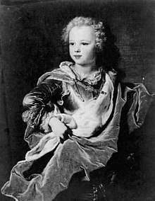 1722 portrait of Marie Charles Louis d'Albert, Duke of Chevreuse (later Luynes) by Hyacinthe Rigaud.jpg