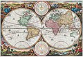 1730 Stoopendaal Map of the World in two Hemispheres - Geographicus - WereltCaert-stoopendaal-1730FXD.jpg