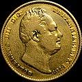 1832 William IV sovereign obverse.jpg