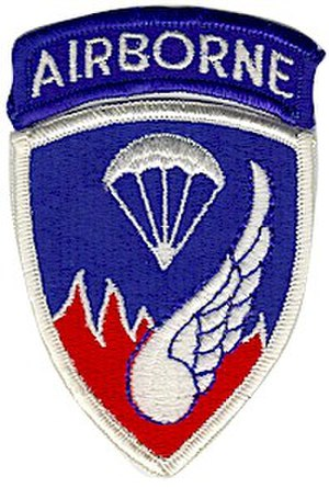 Regimental combat team -  Shoulder patch for the 187th Regimental Combat Team (Airborne)