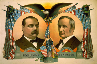 Grover Cleveland 1884 presidential campaign