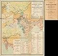1892 map of Central Asia and British Inda - Dislocations-Karte der Indo-britischen Streitkräfte in Ost-Indien un der russischen Streitkräfte in Asien.jpg