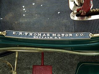Thomas Motor Company us defunct Car manufacturer